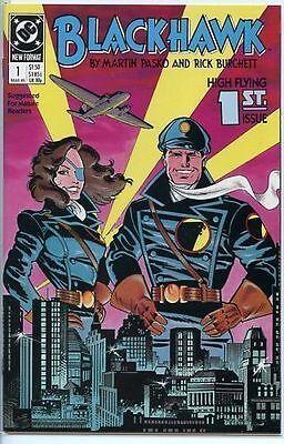 Blackhawk 1989 series # 1 near mint comic book