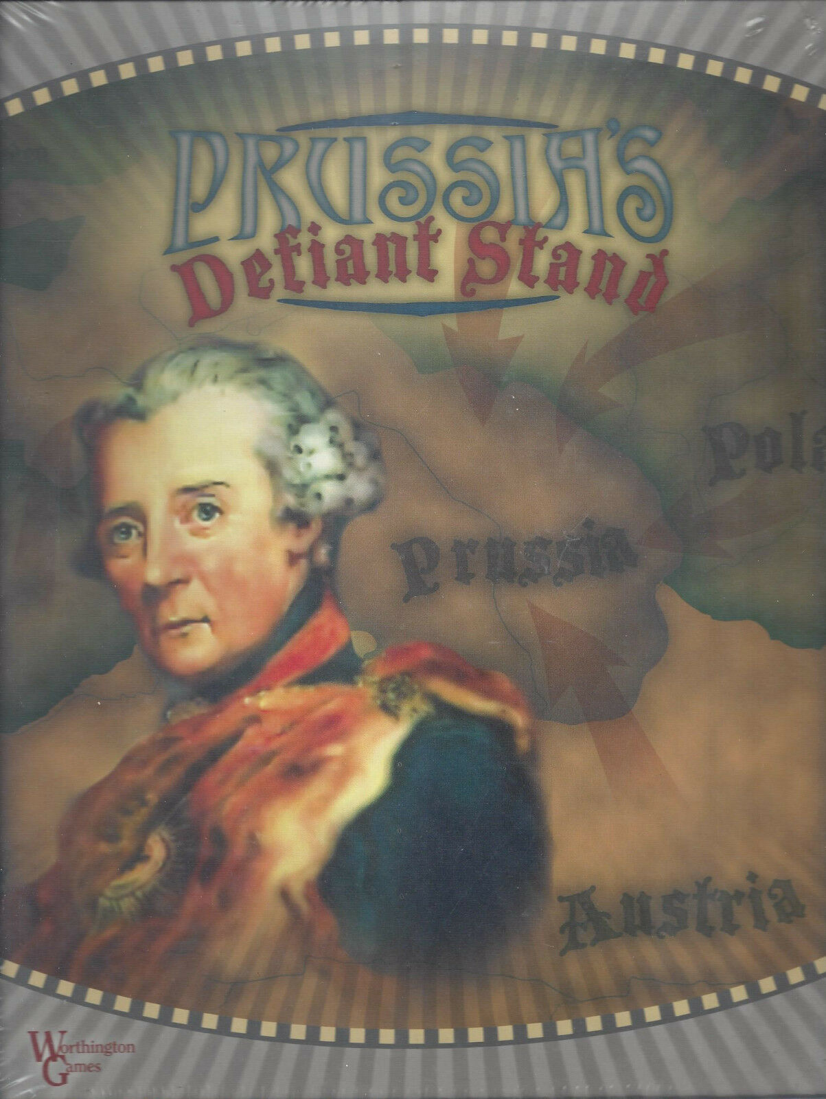 Prussia ' s Defiant Ste tavolagioco nuovo SEAED OOP Worthington giocos