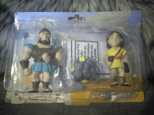 David and Goliath Beginners Bible's Action Figure Toy ... |David And Goliath Action Figures