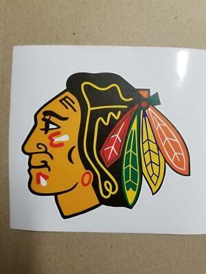 s Chicago Blackhawks cornhole board or vehicle decal CB4