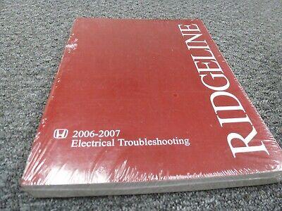 2006-2007 Honda Ridgeline Truck Electrical Wiring Diagrams Manual RT RTX  RTS RTL | eBayeBay