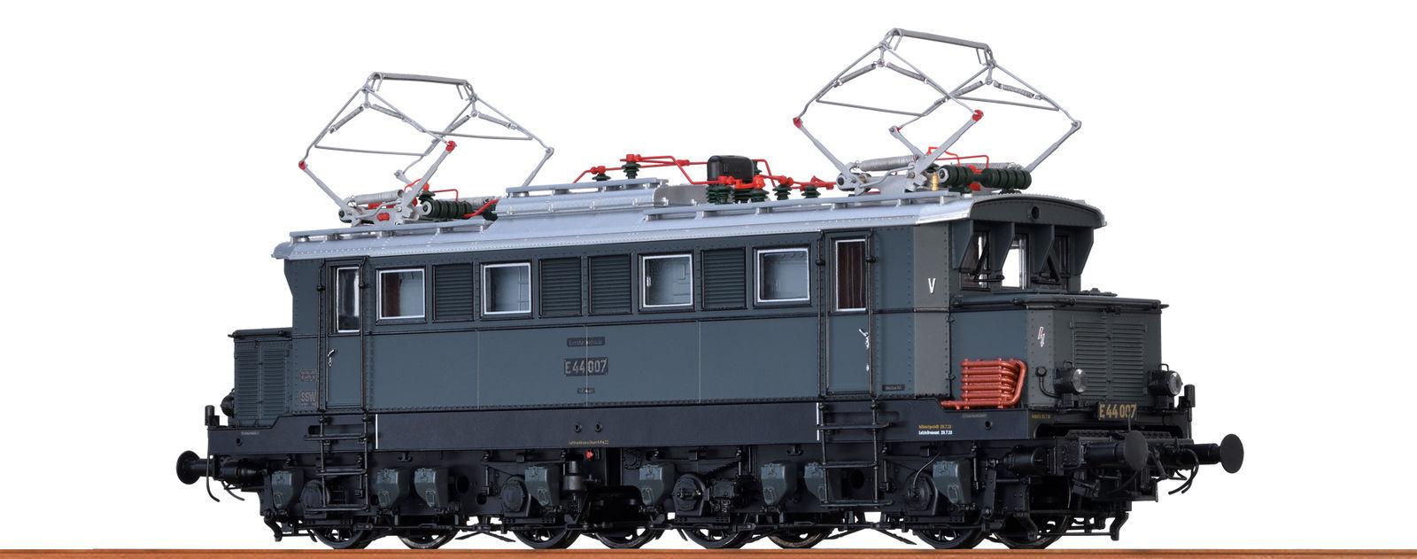 Brawa 43400 Locomotiva Elettrica E44 007 DRG Ep.ii Ho Basi + Nuovo
