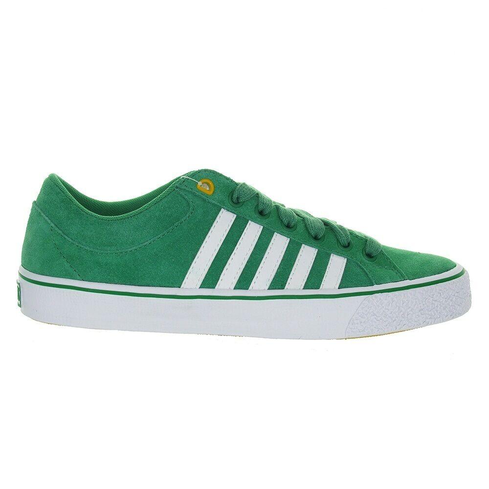 K-SWISS Adcourt Herren Schuhe Leder  39 40 41 42 43 44 45 46 47 Sneaker grün NEU