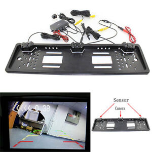 Parking-Sensor-Radar-Rearview-European-License-Plate-Car-License-Plate-Frame