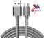 CAVO-USB-3-1-TYPE-C-SMARTPHONE-RICARICA-DATI-VELOCE-SAMSUNG-GALAXY-HUAWEI-90 miniatura 2