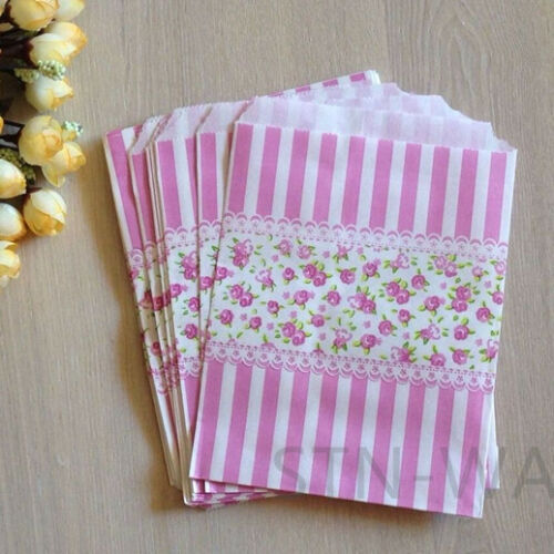 events wedding birthday party favours lolly bags 24x vintage paper gift bags