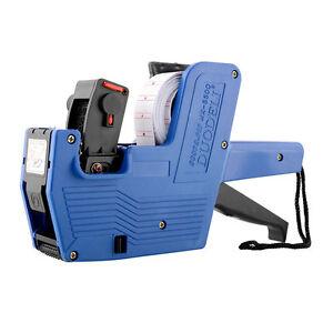 MX-5500-EOS-8-Digits-Price-Tag-Gun-Labeler-Labeller-Including-Ink-Roller-Blue