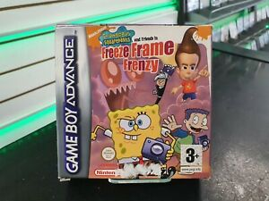 SPONGEBOB Squarepants Freeze Frame FRENESIA-GameBoy Advance-consegna rapida