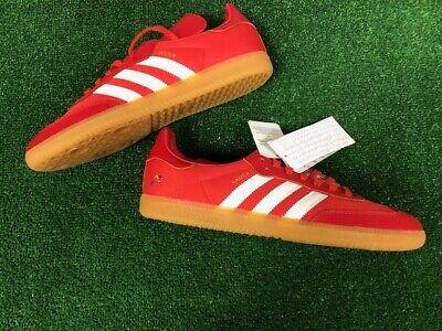 Adidas Samba OG Oyster rouge cuirtoile baskets neuf dans boîte Taille 9   eBay