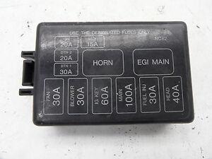 MAZDA-323-MX5-COPERTURA-Relais-Scatola-dei-fusibili-COPERCHIO-7124-6391