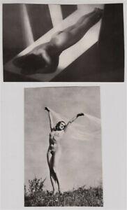 2-Original-1960s-nude-by-Frantisek-Drtikol-Karel-Hajek