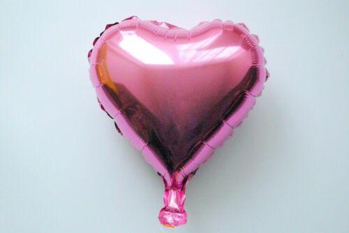 not Helium balloon Folienballons MINI Herzchen Dekoration Herz Valentinstag NEU