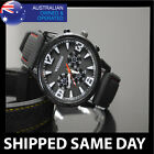 MENS AVIATOR QUARTZ WRIST WATCH Sports Military Infantry Army Fashion Dress