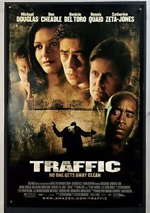 Traffic Movie Poster Fine One Sheet 2000 27x40 Michael Douglas 6450r Ebay