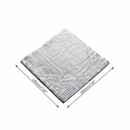 Hot Plate Foil Self-adhesive Pad Heating Bed Sticker Heat Insulation Cotton