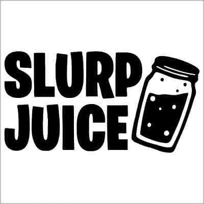 Slurp Juice Vinyl Decal Sticker 2 Two Pack Ebay