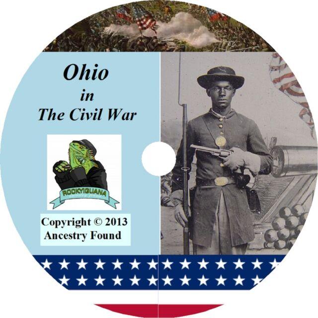 Ohio Civil War Books History & Genealogy 72 Books