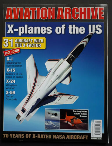 X-planes of the US Aviation Archive TOPP HEFT No 43 22529// KEY