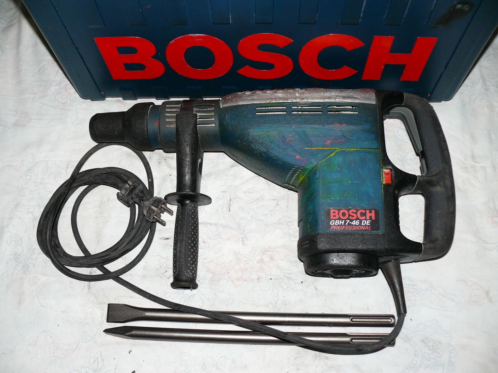 Bosch GBH 7-46 DE BOHRHAMMER MEISSELHAMMER KOMBIHAMMER ABBRUCHHAMMER