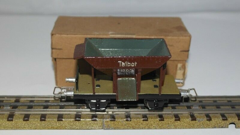 MARKLIN H0   367 K vagone trasporto pietrame TALBOT ottimo con scatola originale