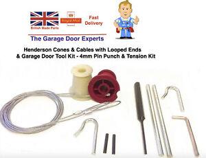 HENDERSON PREMIER CABLES CONES ROLLER SPINDLES REPAIR TOOLS  GARAGE DOOR SPARES