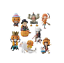 ONE-PIECE-WCF-World-Collectable-Figure-8-set-HALLOWEEN-SPECIAL-2-Luffy-Zoro-Nami thumbnail 2