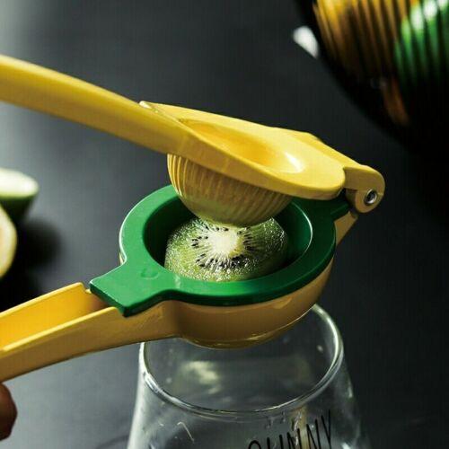 Lemon Squeezer Kitchen /& Bar Stainless Steel Orange Lime Juicer Hand Press Tool