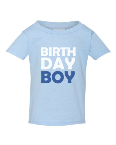 Youth Toddler Birthday Boy T Shirt Bday Party Gift T-Shirt Prince Kids Outfit