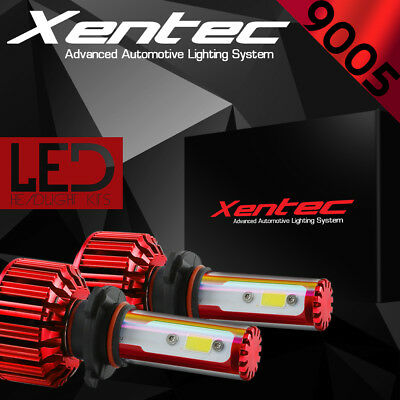 XENTRONIC LED HID Headlight Conversion kit 9005 HB3 6000K for 2013-2016 Ram 1500