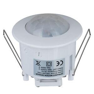 Lampada-Faretto-LED-da-Parete-Con-Sensore-di-Movimento-Luce-d-039-Emergenza-Notte