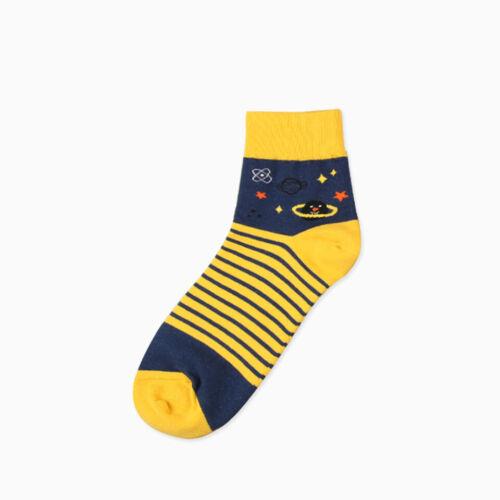 Mens Socks High Cotton Invisible Summer Elasticity Stocking Print Stripe Dot
