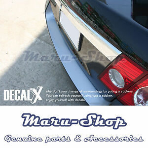 Rear Bumper Protecter Sticker 1p For 06 07 08 Chevy Epica