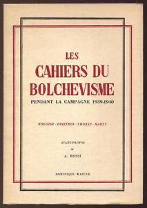 ROSSI-LES-CAHIERS-DU-BOLCHEVISME-PENDANT-LA-CAMPAGNE-1930-1940