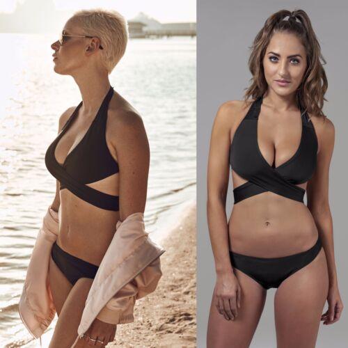 Urban Classics Damen Bikini Badeanzug schwarz Tankini Ladies Ibiza Monokini