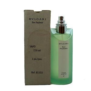 bdf60405b65 BVLGARI EAU PARFUMEE AU THE VERT EAU DE COLOGNE SPRAY 150 ML 5 FL.OZ ...