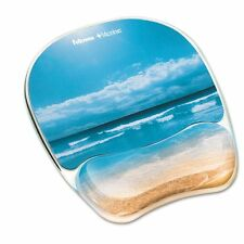 Fellowes Mouse Pad With Gel Wrist Rest - FEL9179301