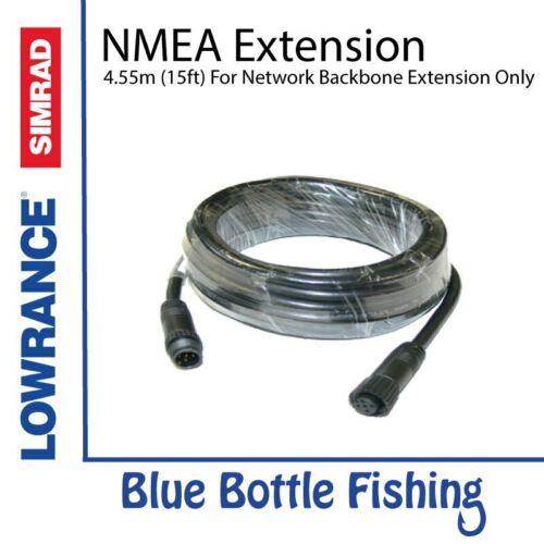 15ft A Partir De Garrafa Azul Marinho Novo NMEA 2000 Cabo De Extensão 4.55m