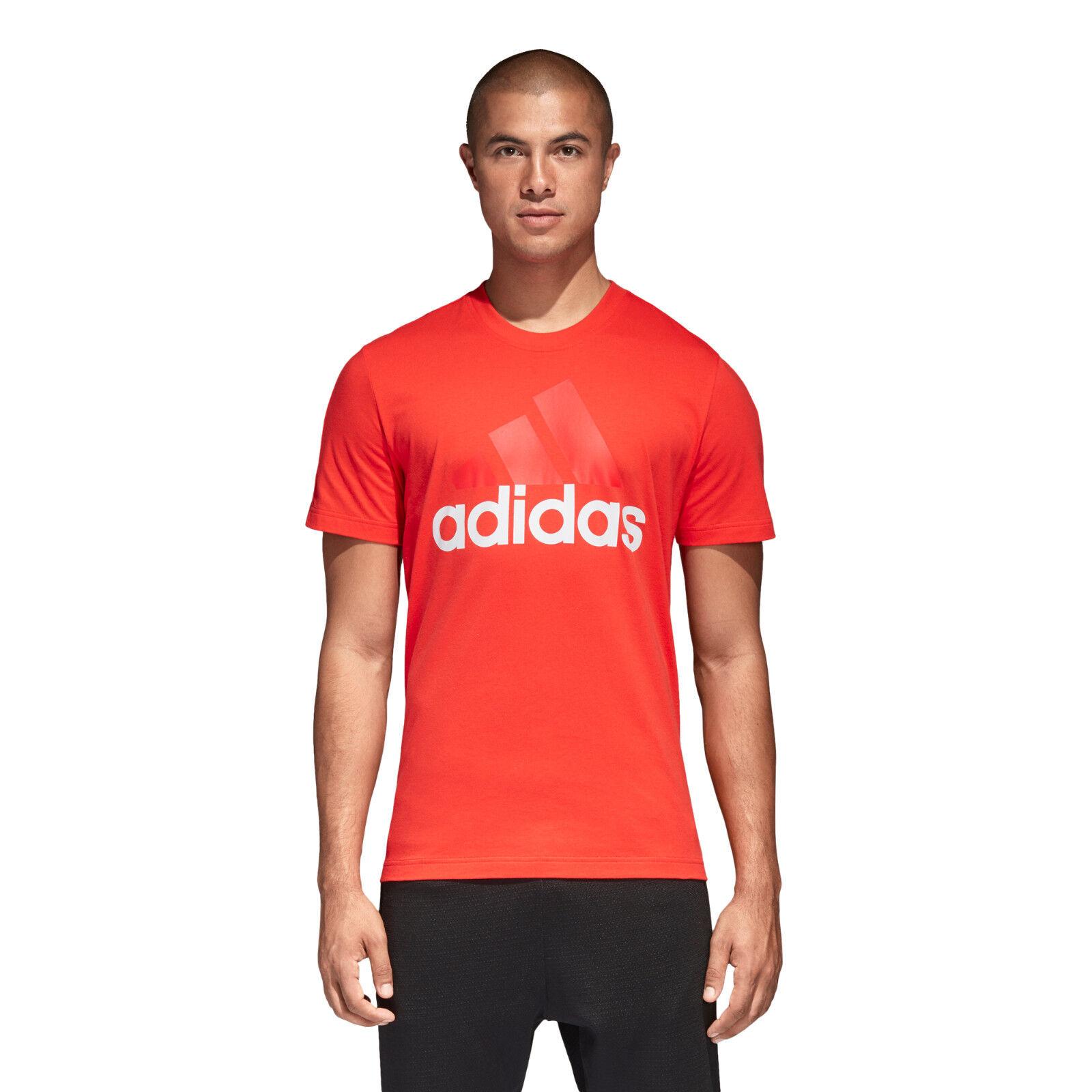 Adidas Men Tshirt Leichtathletik Essentials T-Shirt Laufsport Fitnessstudio CE1926