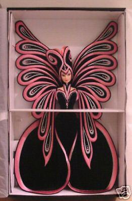 1999 Bob Mackie Le Papillon Barbie le w shipper Mib