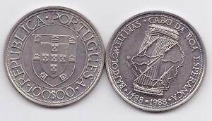 PORTUGAL-1988-100-ESC-CABO-ESPERANZA-NI-UNC