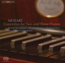 Mozart: Concertos for 2 & 3 Pianos Super Audio Hybrid CD (CD, Sep-2007, BIS...