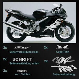 Motorrad Aufkleber passend für Honda CBR600F PC35 Bj 1999 - 2000
