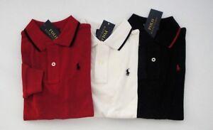 NWT-Ralph-Lauren-Long-Sleeve-Solid-Mesh-Polo-Shirt-USA-Flag-Sz-5-6-7-NEW-45