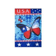 WESTIE RED WAGON GARDEN FLAG  FREE SHIP USA RESCUE