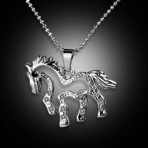Cute-Little-Pony-Choker-Necklace-Pendant-Chain-Fashion-Charms-Jewelry-Gifts-Hot