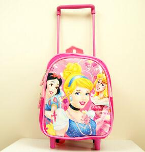 MINI-26-7cm-bambini-bimbi-principesse-Disney-Bagaglio-stile-zaino-da-viaggio