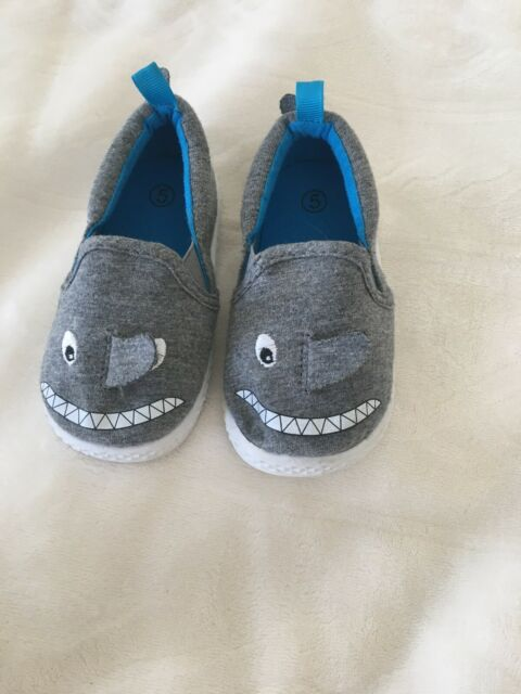 baby boy shoes size 5 Shark Face | eBay