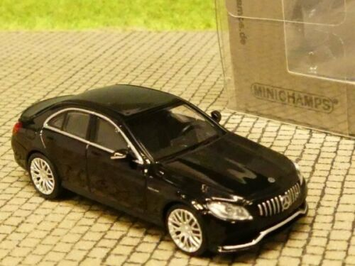 1//87 Minichamps Mercedes AMG C63 Limousine schwarz metallic  870038102