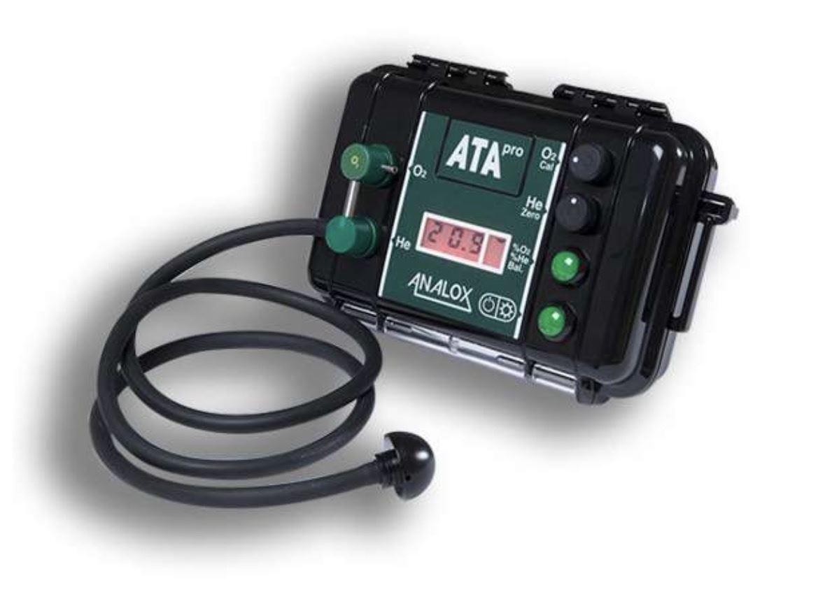 Analox ATA Pro Helium   Trimix Analyser