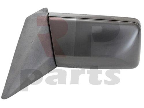 Pour Mb W201 82-93 MB W124 84-96 nouvelle aile Miroir Manuel Noir Bigger gauche LHD